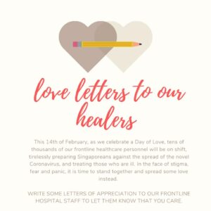 Love letters to healers